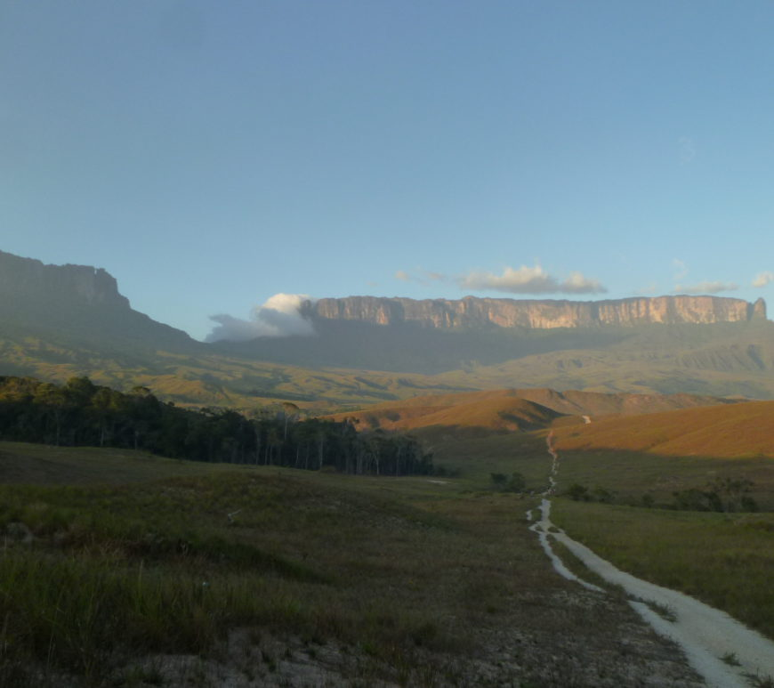 roraima in sunset
